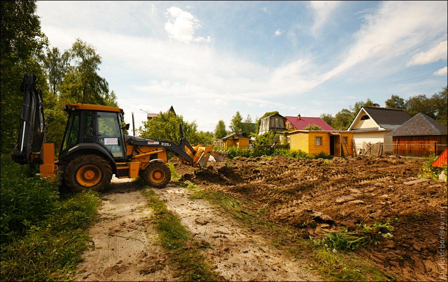 Строительные земляные работы
