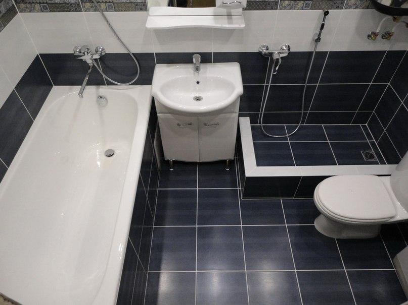 Ремонт ванной и туалета в санкт-петербурге от рублей/кв.м.
