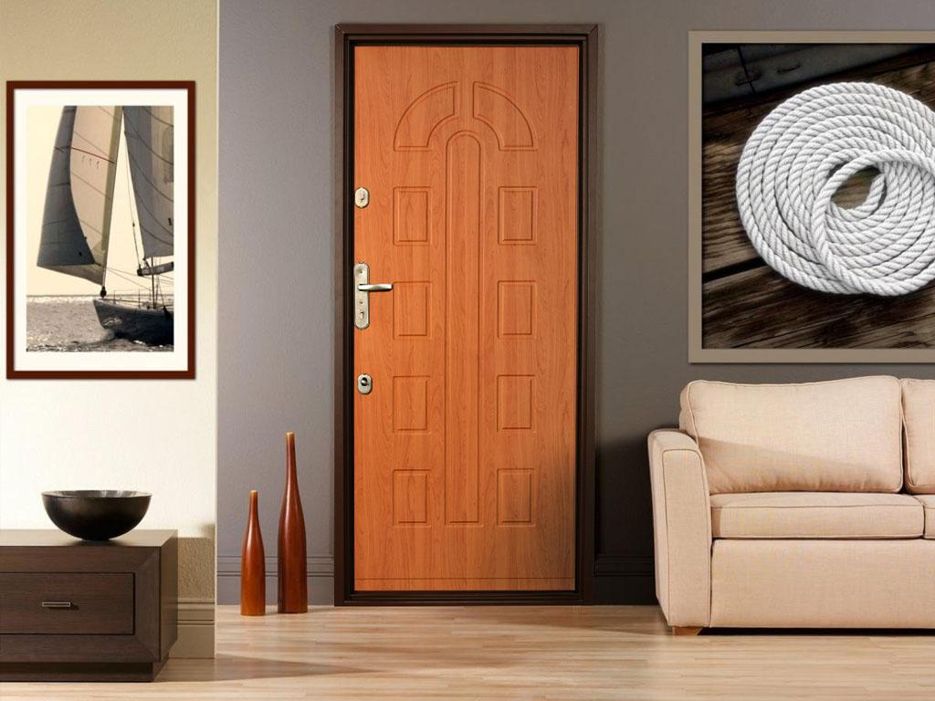 Накладки МДФ для металлических дверей