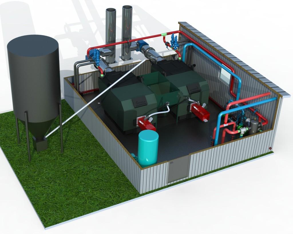 БМК (блочно-модульные котельные) на альтернативных видах топлива