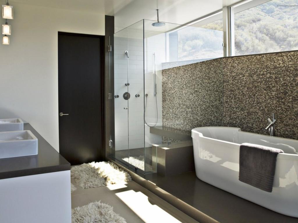 Ванная комната в минималистической стиле