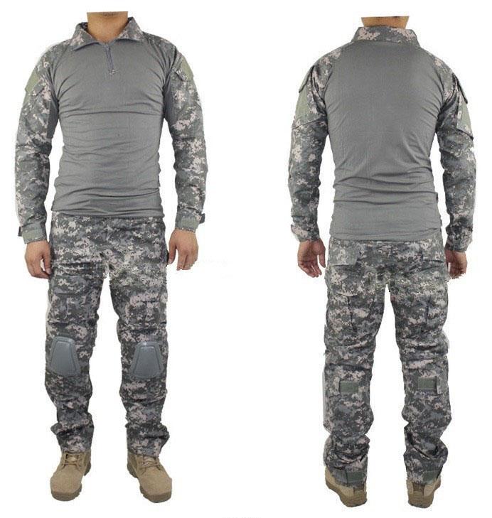 Причини популярності військового спорядження і одягу