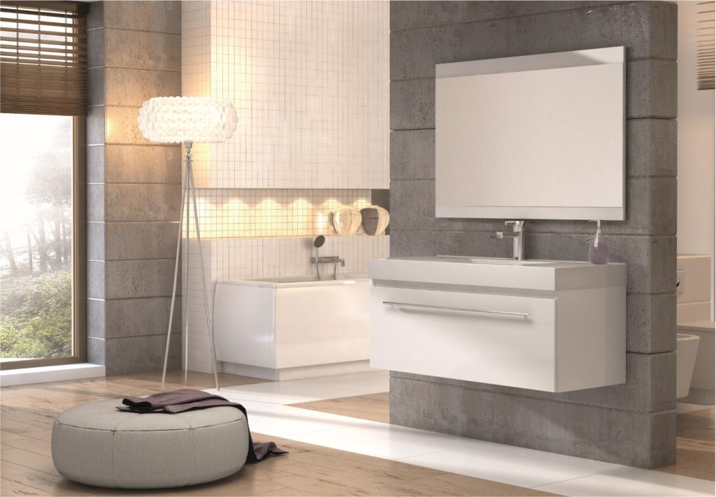 Мебель в ванную: варианты исполнения и основные характеристики