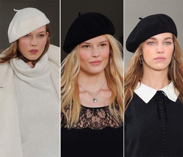 Женские береты: модные модели