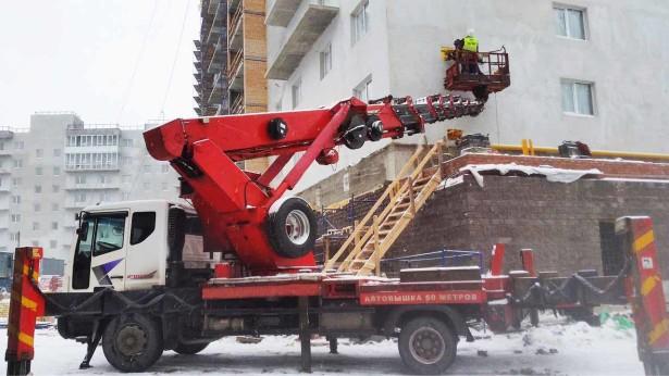 Автомобильные вышки для высотных работ