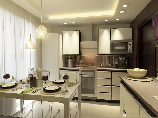Дизайн кухни на современный лад!