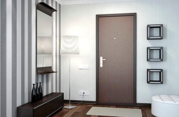 Виды отделки для входных дверей