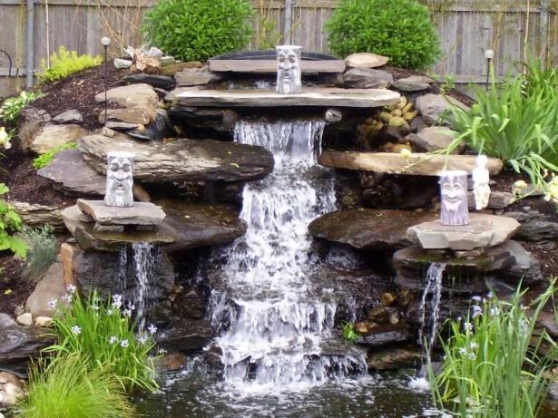 Водоемы и водопады в ландшафтном дизайне