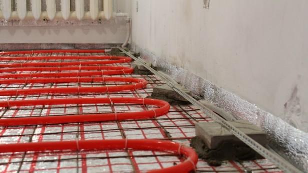 Как проводится монтаж теплого водяного пола