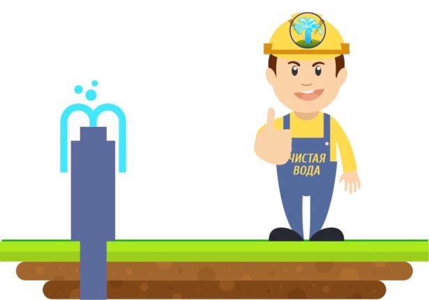 Водяные скважины и система канализации для дачи