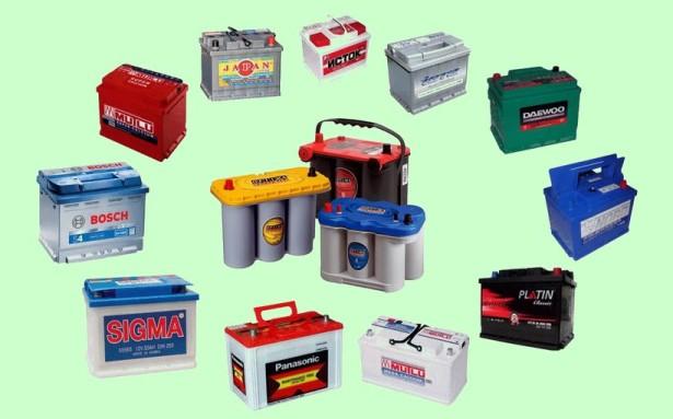 Типы аккумуляторов и их особенности