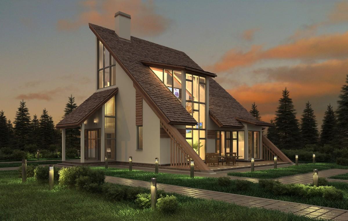 Строительство коттеджей в Харькове